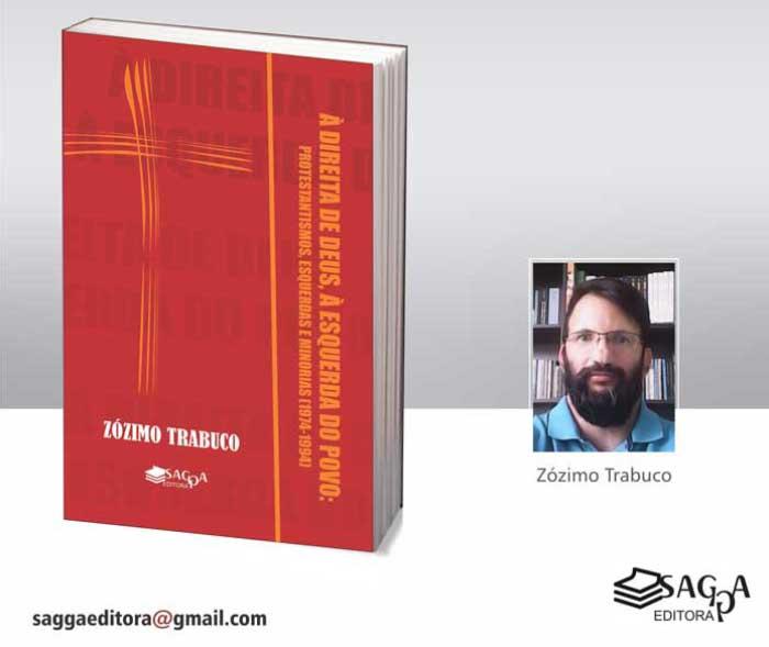 Capa do livro de Zózimo Trabuco