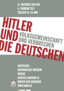 Cartaz da Exposição sobre Hitler e o nazismo
