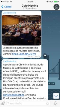 História no celular: siga o canal do Café História no Telegram 1