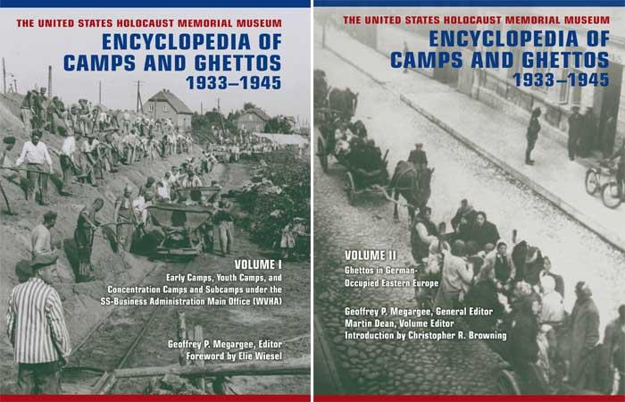 Capa do livro sobre guetos e campos de concentração nazistas