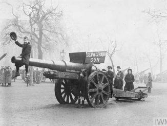 Canhão da Primeira Guerra Mundial