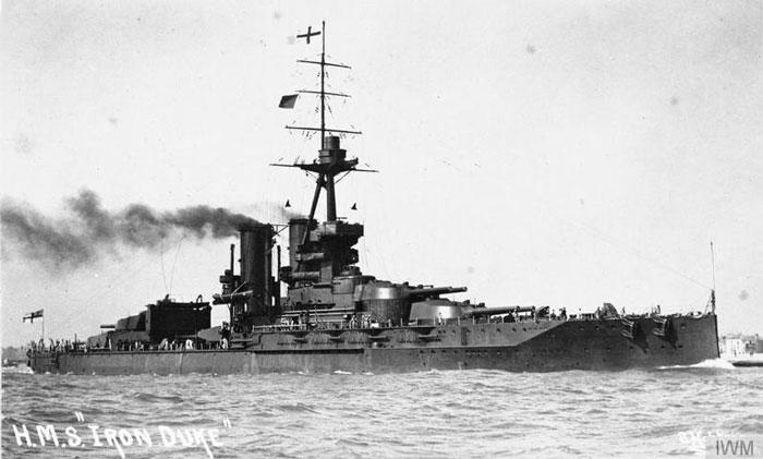 Navio usado na Primeira Guerra Mundial