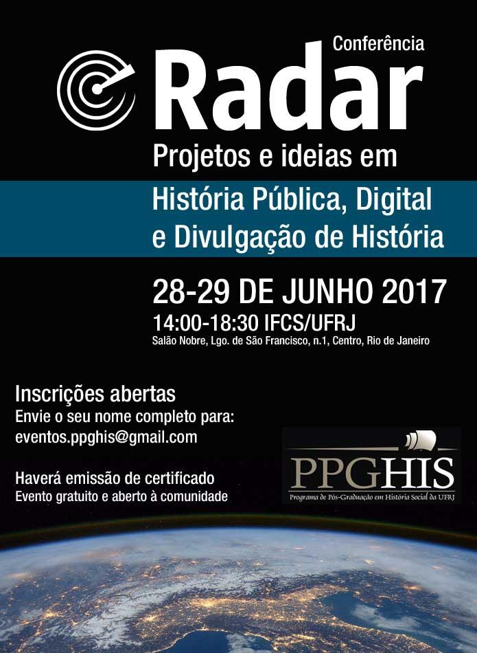 Evento reúne projetos e ideias em História Pública, Digital e Divulgação de História 1