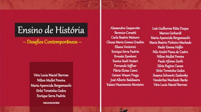 Ensino de História - capa do livro