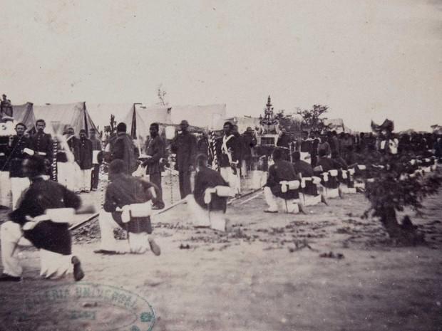 Escravos Guerra do Paraguai - Brasil Império