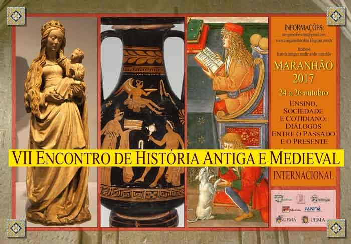 Encontro Internacional de História Antiga e Medieval acontece em outubro no Maranhão 1
