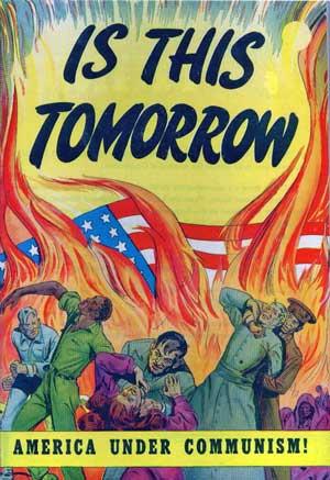 """A """"ameaça vermelha"""": medo e paranoia anticomunista 1"""