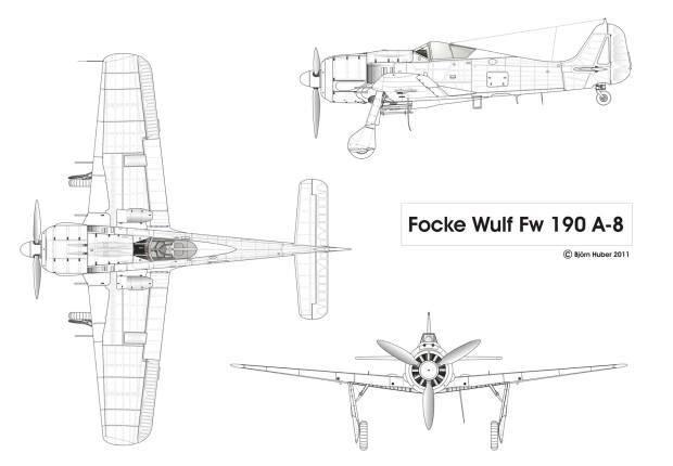 Focke Wul Fw 190