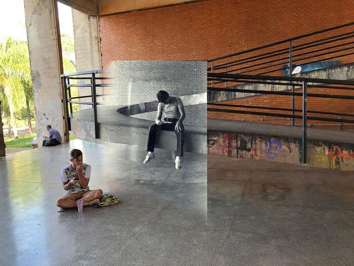 Estudante de História da UnB utiliza refotografia para relembrar as invasões que universidade sofreu na ditadura 4