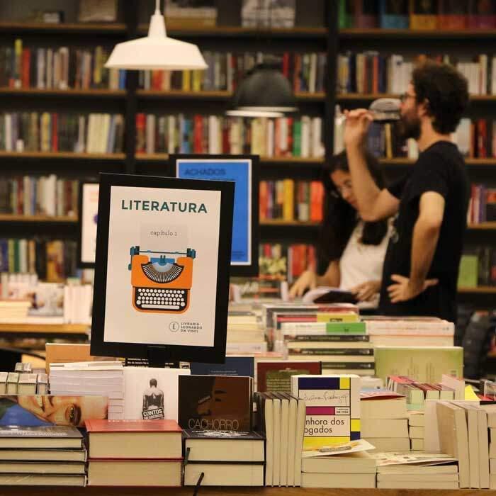Leonardo da Vinci: a livraria que existe e resiste 2