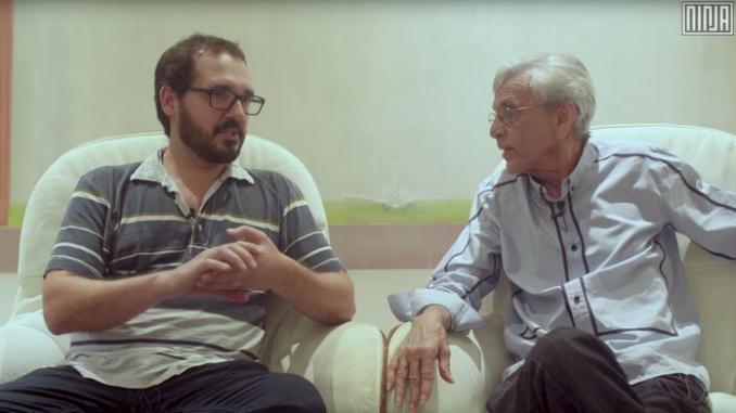 """Escola """"sem"""" Partido é tema de entrevista de Caetano Veloso com o historiador Fernando Penna 1"""
