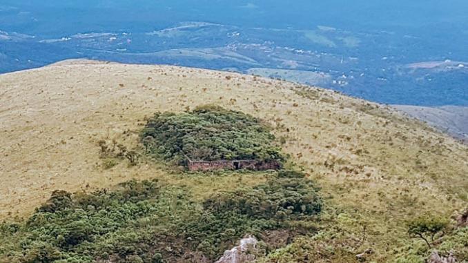 Historia de Brumadinho - sitio arqueologico
