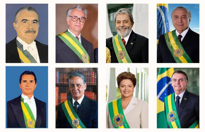 Todos os presidentes e presidenta da Nova República (1985-2019). O desafio de lidar com a memória do Golpe de 1964.