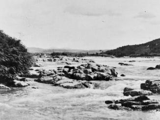 Vista do Rio Doce em Aimorés