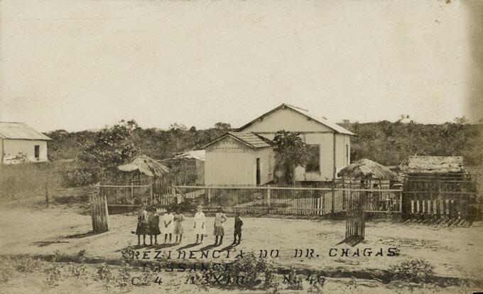 Residência de Chagas em Lassance
