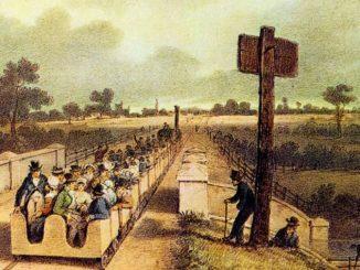 Revolução Industrial - estrada de ferro