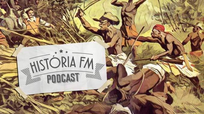 """Palmares e Zumbi no Podcast """"História FM"""" 1"""