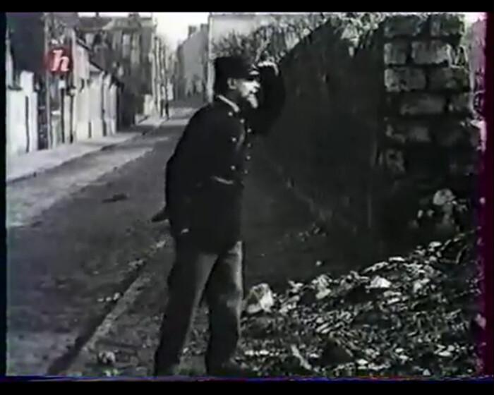 """Cena do filme """"A Comuna de 1871"""", produzido pelo """"Cinema do Povo"""". Fonte: acervo do autor."""