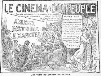 """Cartaz de divulgação do """"Cinema do Povo"""". Fonte: acervo do autor."""