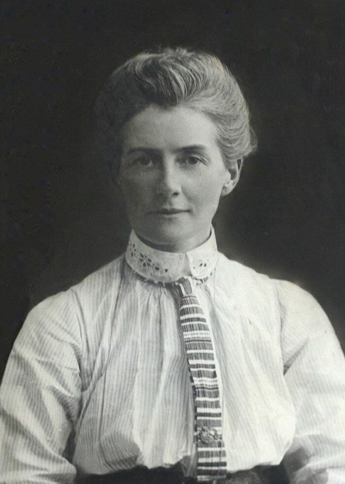 A enfermeira Edith Cavell foi morta aos 49 anos, em 1915. Foto: Wikipédia.