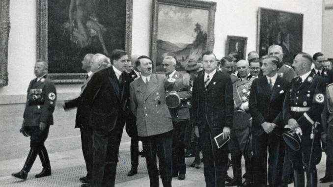 O controle da cultura e da arte na Alemanha Nazista 1