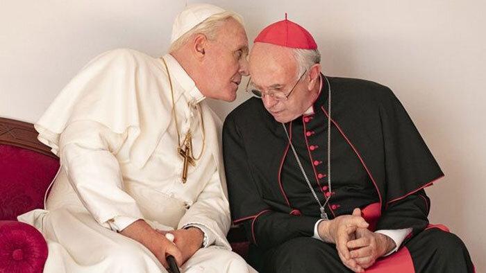 As cenas do filme são quase todas muito bonitas e ambientadas em Roma e no Vaticano. Foto: divulgação.