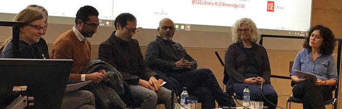 Os participantes do painel em Londres. Foto: Debbie Challis, LSE Library.
