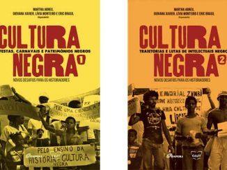 Dois volumes do livro Cultura Negra no Brasil, disponível para download gratuito.