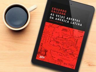 Capa do livro As veias Abertas da América Latina
