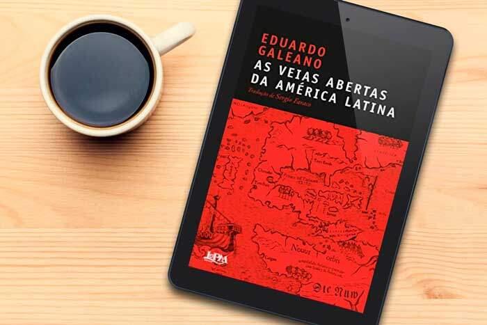Capa do livro As veias Abertas da América Latina