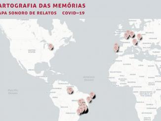 Cartografias da Memória, um mapa sonoro do cotidiano durante a pandemia da COVID-19