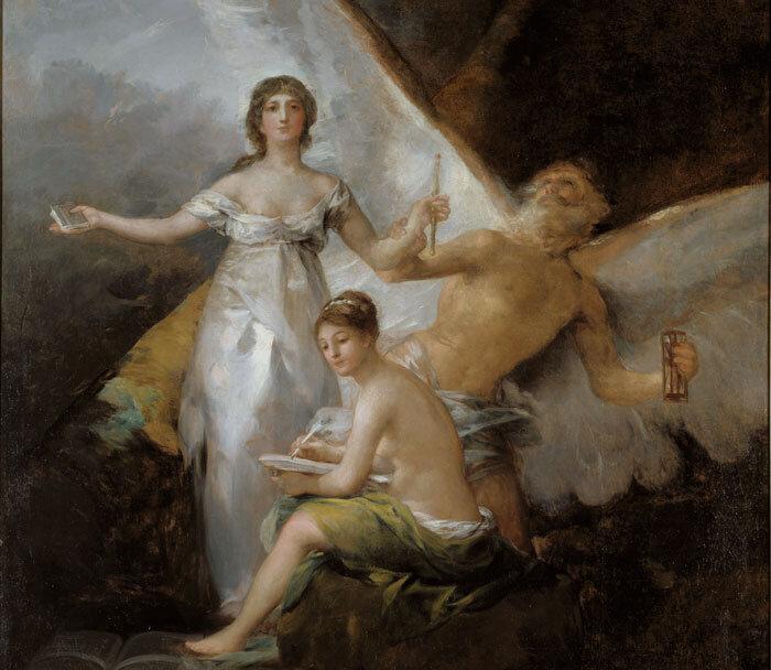 Alegoria à Constituição de 1812, por Francisco de Goya