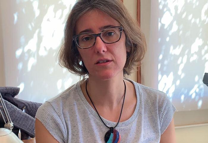 A pesquisadora Cristiana Schettini