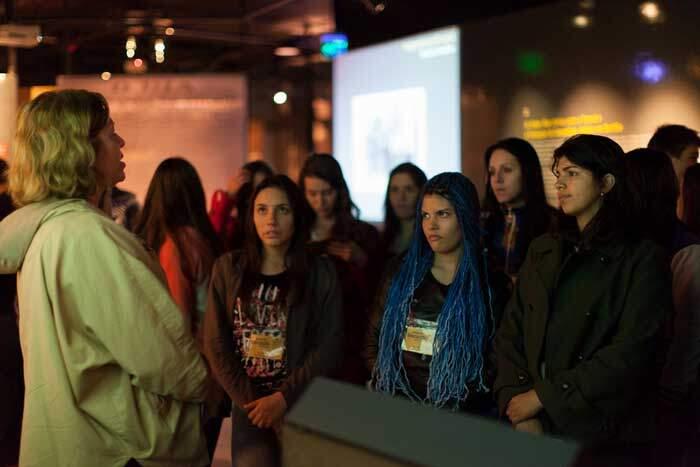 Exposição no Museu do Holocausto em Curitiba