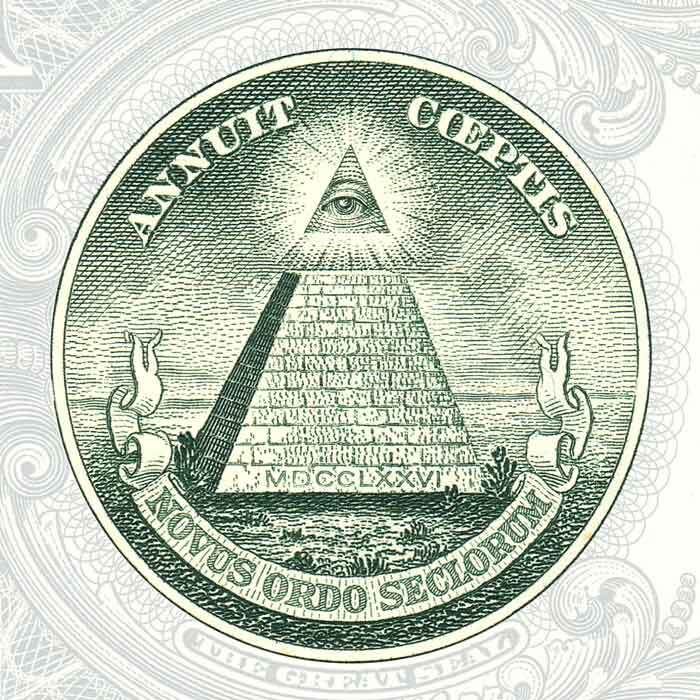 Olho da Providência - símbolo dos Illuminati