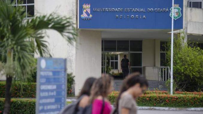 Universidade Estadual do Ceanrá. Foto: Davi Pinheiro.