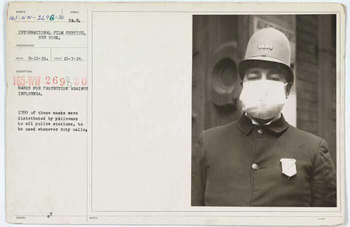 Use máscara e salve sua vida: a pandemia de gripe de 1918 nos Estados Unidos 1