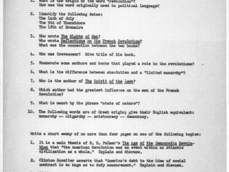Confira uma prova da professora Hannah Arendt 1
