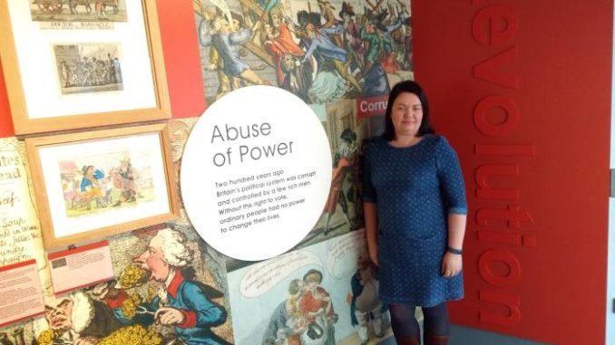 Katy Ashton é a diretora do Museu de História da Pessoa. Foto: André de Lemos Freixo.