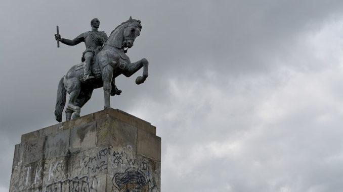 Conquistador Sebastián de Belalcázar - Morro del Tulcán. Foto: Wikipedia.