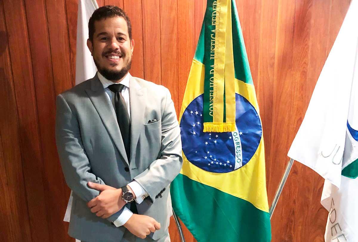 Entrevistamos o juiz Erichson Alves Pinto, que atua no Tribunal de Justiça do Estado do Pará. Foto: acervo pessoal do entrevistado.