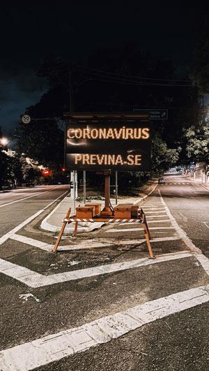 Pandemia paralizou o mundo inteiro. O Brasil sente os imapctos em diversas esferas. Foto: Nathana Rebouças/Unplash.