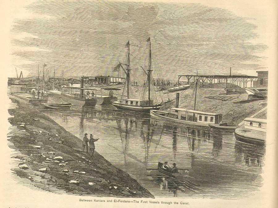 Cavado no deserto: uma história do Canal de Suez 2